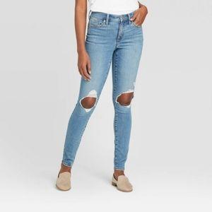 NWT Universal Thread 31/12 high rise skinny jeans